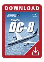 Douglas DC-8-50 P3D V4
