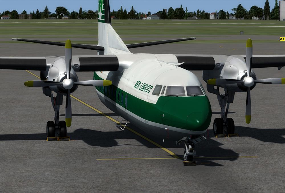 Fokker F27 Freindship - Flugzeuge P3D V4 - Mailsoft