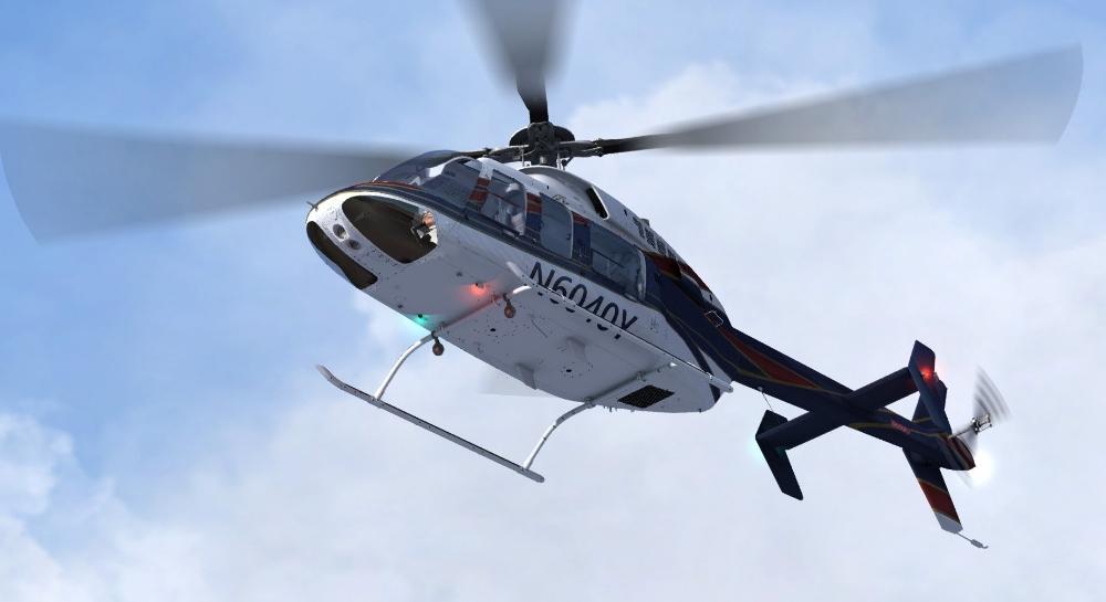 Bell 407 - Helicopter P3D V4 - Mailsoft