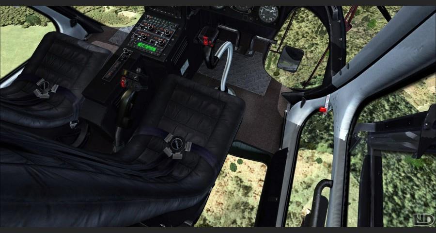 eurocopter as 355 ecureuil ii helikopter mailsoft FSX Aircraft Cockpit Flight Simulator Cockpit Plans